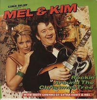 Cover Mel & Kim [Mel Smith & Kim Wilde] - Rockin' Around The Christmas Tree